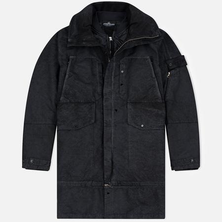 Мужское пальто Stone Island Shadow Project Multi Strata David TC Steel Grey
