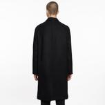 Мужское пальто Universal Works Overcoat Melton Black фото- 7