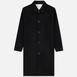 Мужское пальто Universal Works Overcoat Melton Black фото- 0