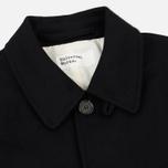 Мужское пальто Universal Works Overcoat Melton Black фото- 1