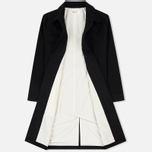 Мужское пальто Universal Works Overcoat Melton Black фото- 2