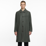 Мужское пальто Universal Works Overcoat Melton Grey фото- 6