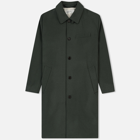 Мужское пальто Universal Works Overcoat Melton Grey