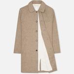 Мужское пальто Universal Works Top Khaki Melton фото- 1