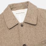 Мужское пальто Universal Works Top Khaki Melton фото- 2