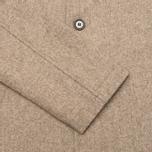 Мужское пальто Universal Works Top Khaki Melton фото- 3