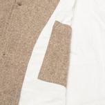 Мужское пальто Universal Works Top Khaki Melton фото- 4