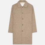 Мужское пальто Universal Works Top Khaki Melton фото- 0