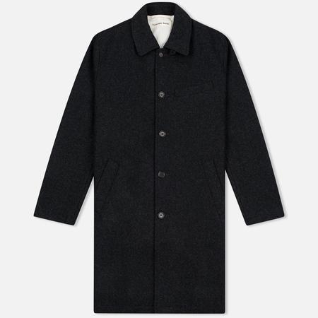 Universal Works Top Melton Men's coat Charcoal