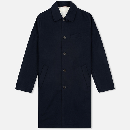 Universal Works Top Melton Men's coat Navy