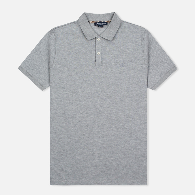 Мужское поло Aquascutum Hilton Cotton Grey