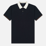 Мужское поло Aquascutum Lee Block Colours Pique SS Navy фото- 0