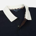 Мужское поло Aquascutum Lee Block Colours Pique SS Navy фото- 2