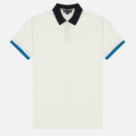 Мужское поло Aquascutum Lee Block Colours Pique SS White фото- 0