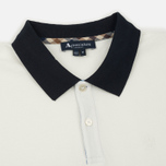 Мужское поло Aquascutum Lee Block Colours Pique SS White фото- 1