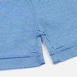 Мужское поло Aquascutum Silsden Fine Stripe Blue фото- 3