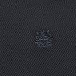 Мужское поло Aquascutum Timbs Contrast Collar & Cuff Logo Charcoal фото- 2