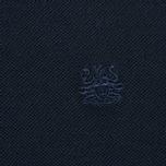 Мужское поло Aquascutum Timbs Contrast Collar & Cuff Logo Navy фото- 2