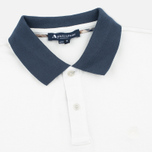 Aquascutum Timbs Contrast Collar & Cuff Logo Men's Polo White photo- 1