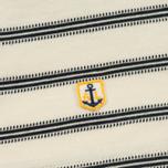 Мужское поло Armor-Lux Heritage Jersey Jacquard Nature/Rich Navy фото- 3