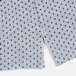 Мужское поло Barbour Cross Printed Grey Marl фото- 3