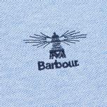 Мужское поло Barbour Joshua Sky Marl фото- 3