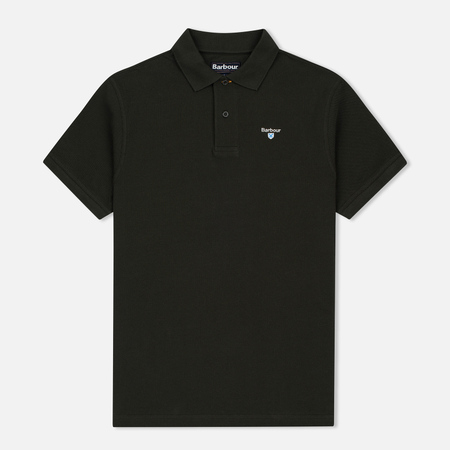 Barbour Sports Men's Polo Forest Green