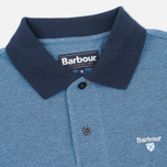 Мужское поло Barbour Sports Mix Navy фото- 1