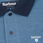 Мужское поло Barbour Sports Mix Navy фото- 2