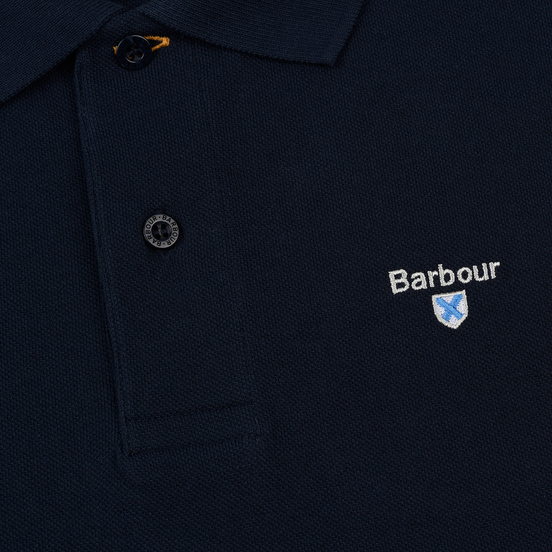Мужское поло Barbour Sports New Navy