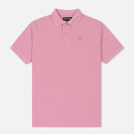 Мужское поло Barbour Sports Pink