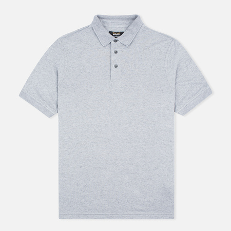 Barbour x Land Rover Men's Polo Valley Grey