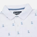 Мужское поло Barbour Vintage Beacon White фото- 1