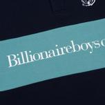 Мужское поло Billionaire Boys Club Cut & Sew Blue фото- 3