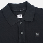Мужское поло C.P. Company M/C Regular Fit Black фото- 1