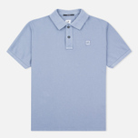 C.P. Company M/C Regular Fit Men's Polo Violet Blue photo- 0