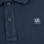 Мужское поло C.P. Company M/C Regular Fit Navy фото- 2