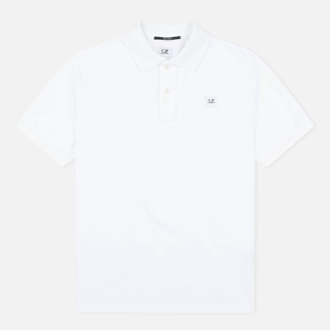 C.P. Company M/C Regular Fit Men's Polo White