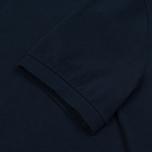 Мужское поло C.P. Company Regular Fit Garment Dyed SS Black Iris фото- 3