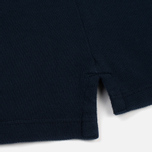 Мужское поло C.P. Company Regular Fit Garment Dyed SS Black Iris фото- 4