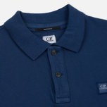 Мужское поло C.P. Company Regular Fit Garment Dyed SS True Navy фото- 1