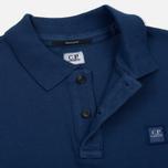 Мужское поло C.P. Company Regular Fit Garment Dyed SS True Navy фото- 3