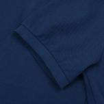 Мужское поло C.P. Company Regular Fit Garment Dyed SS True Navy фото- 4