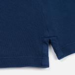 Мужское поло C.P. Company Regular Fit Garment Dyed SS True Navy фото- 5