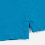 Мужское поло C.P. Company Regular Fit Garment Dyed SS Turquoise фото- 5