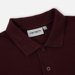 Мужское поло Carhartt WIP Madison Duck Amarone/Beam фото- 1