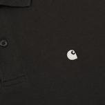 Мужское поло Carhartt WIP Madison Duck Asphalt/Wax фото- 2