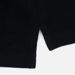Мужское поло Carhartt WIP SS Slim Fit Black/White фото- 3