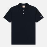 Мужское поло Champion Reverse Weave Logo Left Sleeve Navy фото- 0