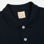 Мужское поло Champion Reverse Weave Logo Left Sleeve Navy фото- 1